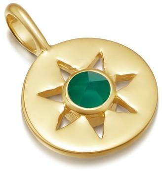 Missoma Green Onyx May Birthstone Pendant