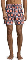 Vilebrequin Moorea Primitive Turtles Swim Trunks
