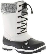 Baffin Girls' Avery Snow Boot Juniors - White Boots