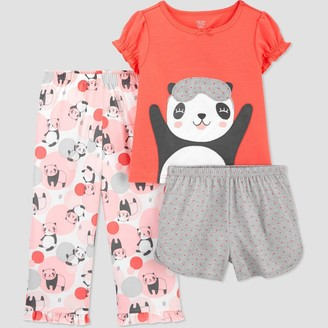 Just One You Made By Carter's Toddler Girls' 3pc Panda Pajama Set - Just One You® made by carter's