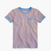 J.Crew Boys' pocket T-shirt in stripes