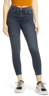 Topshop Jamie High Waist Crop Skinny Jeans
