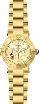 Invicta Women's 'Disney Edition' Quartz Stainless Steel Casual Watch, Color:Gold-Toned (Model: 24499)