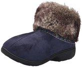Isotoner Women's Microsuede Hazel Low Boot Flat