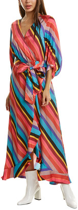 Crosby By Mollie Burch Young Wrap Maxi Dress