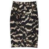 Amanda Wakeley Tortoise Canvas Print Skirt