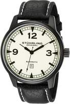 Stuhrling Original Men's 129XL.335566 Sportsmans Tuskegee Warhawk Automatic Date Black Watch