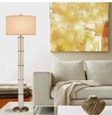 Lulu & Georgia Glass Column Floor Lamp