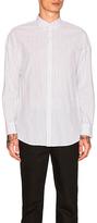 Zanerobe Pinstripe Rugger Shirt in White. - size M (also in )