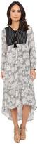 Brigitte Bailey Evelyn Printed Maxi Dress with Tassels