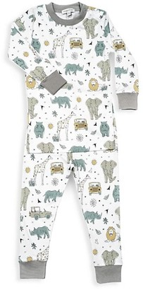 Baby Noomie Baby's & Little Boy's 2-Piece Safari Pajama Set