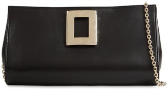 Roger Vivier SWEET VIVIER SOFT LEATHER POUCH