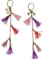 Scotch & Soda Multi-coloured Tassel Earrings