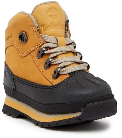 Timberland Eurohiker Waterproof Boot (Toddler & Little Kid)