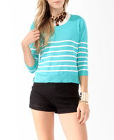 Style deals Classic Striped Sweater