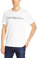 Calvin Klein Jeans Men's Traditional Jeans Crew Neck T-Shirt