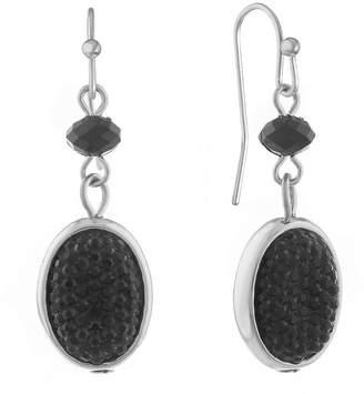 MIXIT Mixit 1 Pair Black Drop Earrings