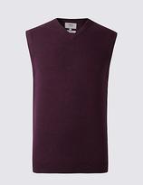 M&s Collection Pure Cotton Slipover Jumper