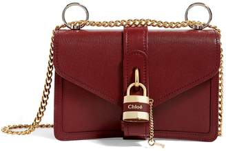 Chloé Leather Aby Chain Shoulder Bag