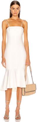 Cinq à Sept Salina Dress in White   FWRD