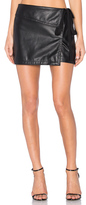 No.21 No. 21 Side Tie Mini Skirt