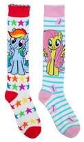 My Little Pony Girls' 2-Pack Knee High Socks - White