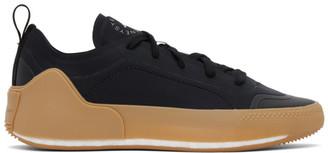 adidas by Stella McCartney Black Treino Low-Top Sneakers