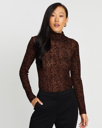 Vero Moda Long Sleeve High Neck Top