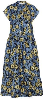 Samsoe & Samsoe Samse Samse Margo Floral-print Maxi Dress