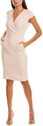 Max Mara Bill Wool-Blend Sheath Dress