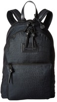 John Varvatos Croc Embossed Ballistic Nylon Backpack Backpack Bags