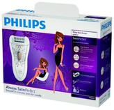 Philips Norelco Philips Satin Perfect Deluxe Women's 4pc Rechargeable Electric Epilator - HP6576/50