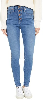 Madewell 10 High-Rise Skinny Jeans in Dewitt Wash (Dewitt Wash) Women's Jeans
