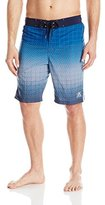 ZeroXposur Men's Boost Printed Color Block Swim Short