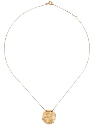 Pascale Monvoisin 9kt yellow and rose gold diamond Izia necklace