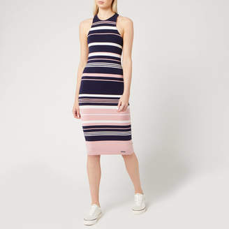 Superdry Women's Verigated Stripe Midi Dress