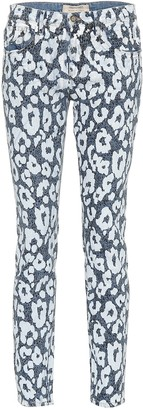 Roberto Cavalli Leopard-printed jeans