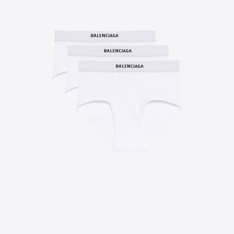 Balenciaga Three-Pack Briefs