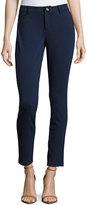 MICHAEL Michael Kors Denim-Style Skinny Pants, Real Navy