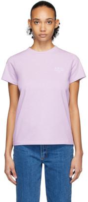 A.P.C. Purple Denise T-Shirt