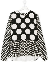 MSGM polka dot blouse