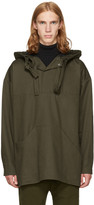 Phoebe English Green Double Tie Hooded Jacket