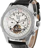 Forsining Men's Transparent Automatic Wrist Watch JAG070M3S1