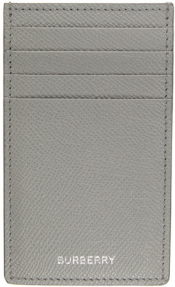 Burberry Grey Logo Card Holder