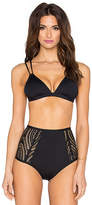 L-Space LSPACE New Wave Top in Black