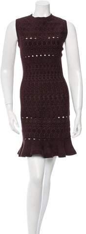 Alaia Textured Cutout Dress