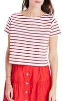 Madewell Women's Stripe Boxy Tee