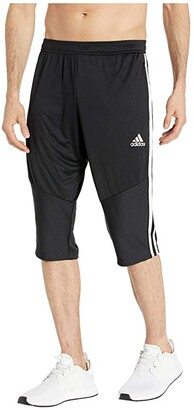 adidas Tiro '19 3/4 Pants (Black/White) Men's Clothing