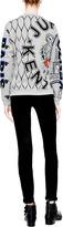 Kenzo Patchwork Cotton-Jersey Sweatshirt