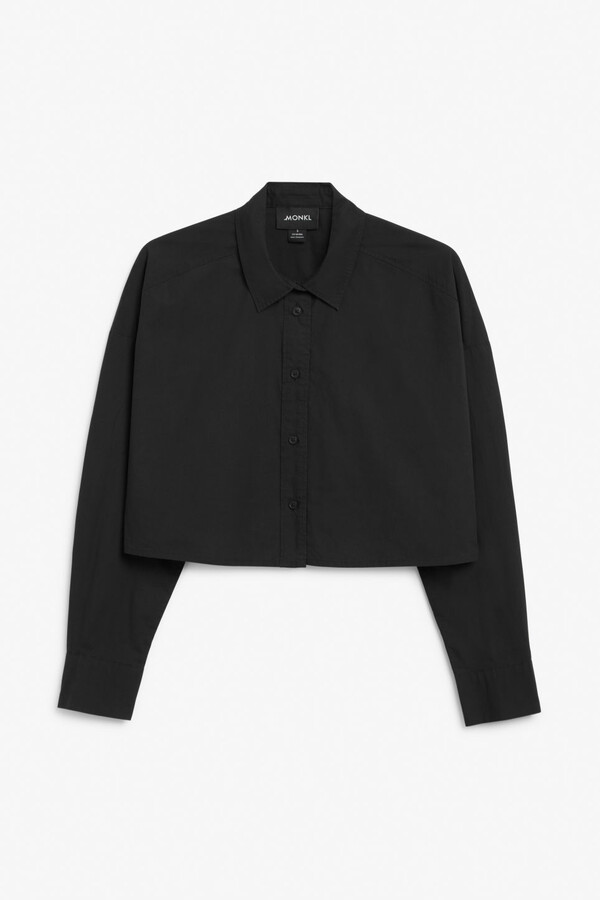 Thumbnail for your product : Monki Cropped shirt